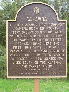 There is a specter haunting Selma, Tuskegee, and Birmingham: the ruins of Cahawba
