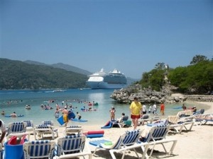 "Welcome to Royal Caribbean's Private Island Paradise, ""Labadee, Hispanolia"""
