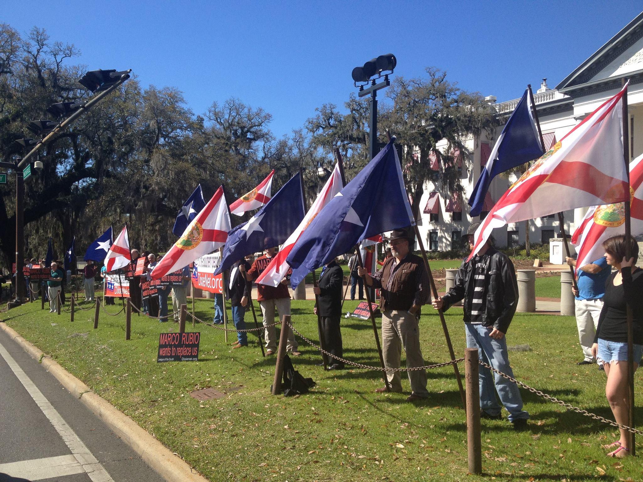 Bonnie Blue Flag In Tallahassee