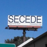 Secede billboard gets on Drudge Report