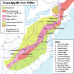 Appalachia Physiographic Subregions
