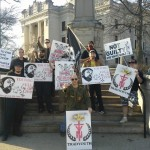 "Trad Youth Protests Tim Wise, ""Full of Lies,"" In Bloomington"