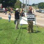 "League of the South Hosts ""Anti-Government"" Rally In Wetumpka, AL"