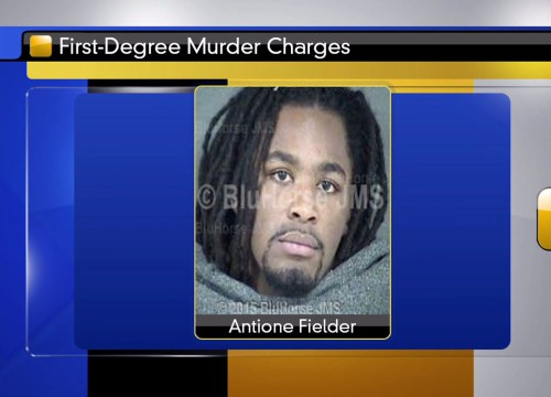 Antione Fielder has been arrested and charged with the murder of Kelsey Ewonus