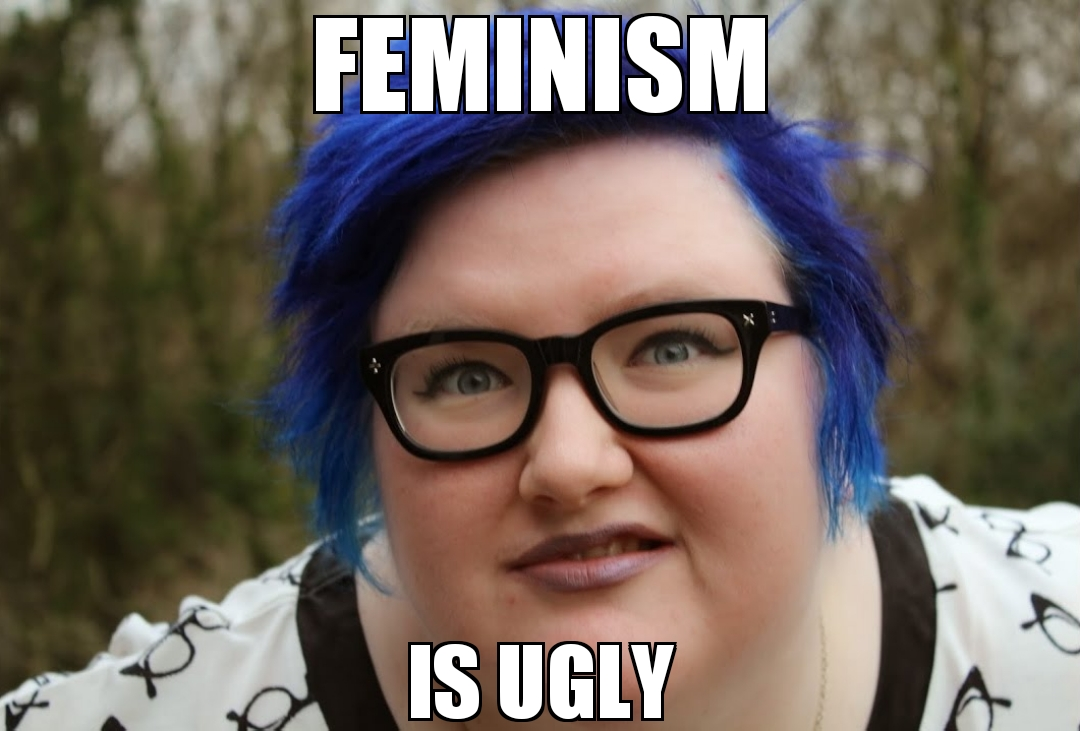 Blue hair fat woman – Occidental Dissent